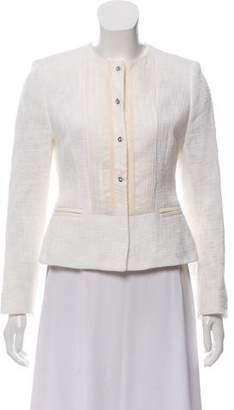 Dolce & Gabbana Basketweave Silk-Blend Jacket