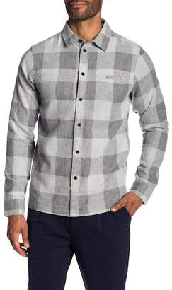 NATIVE YOUTH Brentwood Check Print Trim Fit Shirt