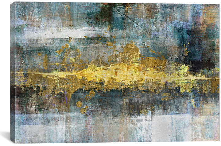 Conrad Knutsen Frequency Wrapped Canvas
