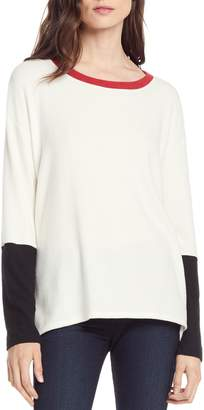 Michael Stars Madison Colorblock Top