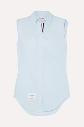 Thom Browne Cotton-piqué Shirt - Blue
