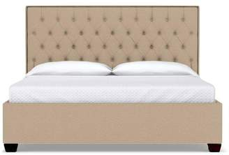 Apt2B Huntley Drive Upholstered Bed CAL KING in BEIGE - CLEARANCE
