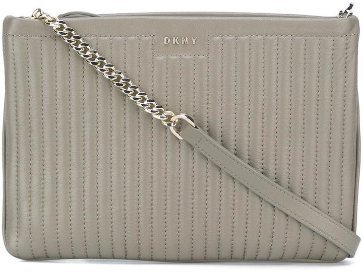 DKNY DKNY quilted crossbody bag