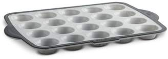 Trudeau Structured Silicone Marble Mini-Muffin Pan, 20-Piece