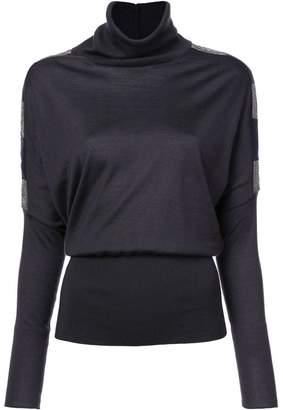 Fabiana Filippi side stripe detail sweater