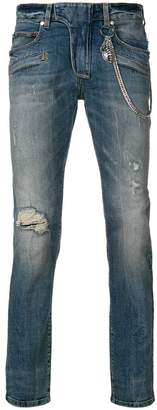 Pierre Balmain distressed jeans