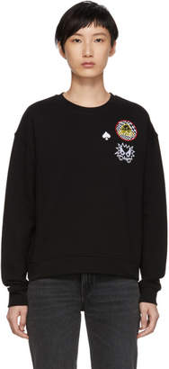 McQ Black Slouch Sweatshirt