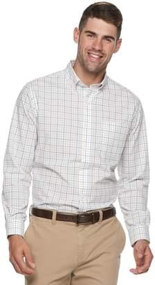 Croft & Barrow Men's Classic-Fit Patterned Button-Down Shirt