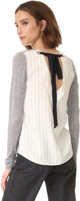 Bailey44 Backstay Sweater $198 thestylecure.com