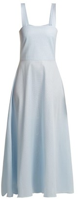 Gioia Bini Lucinda Cotton Maxi Dress - Womens - Light Blue