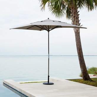 west elm Rectangle Umbrella - Steel