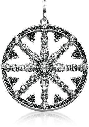 Thomas Sabo Blackened Sterling Silver Pendant w/Black Cubic Zirconia