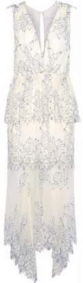 Alice McCall Clementine Lace Peplum Midi Dress