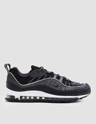 Nike Air Max 98 SE Sneaker in Black/Anthracite