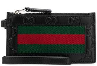 Gucci zipper wallet
