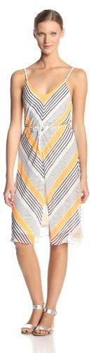 Dolce Vita Women's Sitanka Fluorescent-Stripe Dress