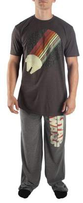 Star Wars Men's Falcon Top and Pajama Pant 2-Piece Lounge Set
