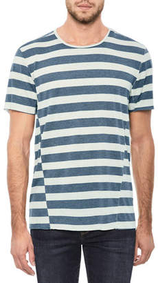 Joe's Jeans Men's Engineered Stripe T-Shirt