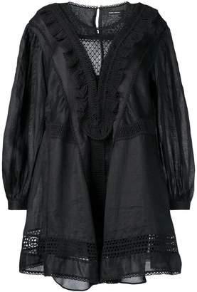Isabel Marant long-sleeve flared dress