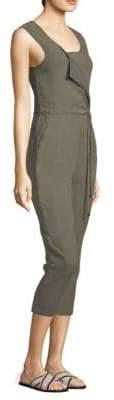 Splendid Arabesque Asymmetric Tie Jumpsuit