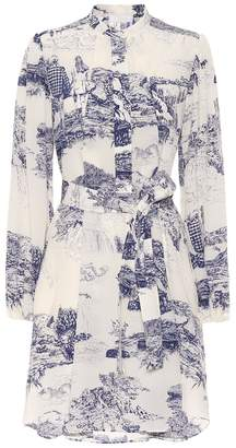 Chloé Printed silk shirt dress