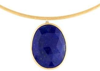 Marco Bicego 18K Lapis Lazuli Lunaria Necklace