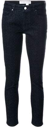 Victoria Beckham Victoria rhinestone skinny jeans