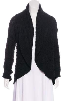 Ralph Lauren Cable Knit Open-Front Cardigan