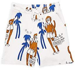 Mini Rodini Little Boy's & Boy's Cool Monkey Sweatshorts