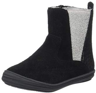Minibel Girls' Nelia Chelsea Boots Black Size: 13UK Child