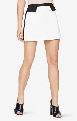 BCBGMAXAZRIA Kaela Tuxedo Miniskirt