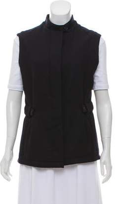 Burberry Wool Button-Up Vest