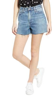 AG Jeans Mikkel High Waist Cutoff Denim Shorts