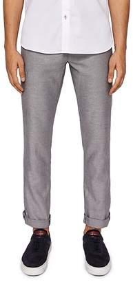 Ted Baker Cazzman Herringbone Slim Fit Pants