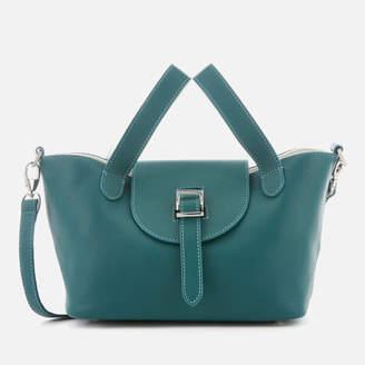 Meli-Melo Women's Thela Mini Tote Bag - Green/White