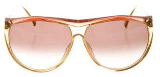 Christian Dior Gradient Oversize Sunglasses