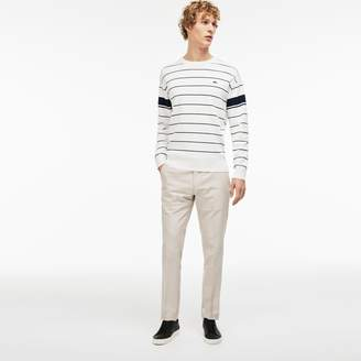 Lacoste Men's Slim Fit Pleated Pants