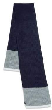 Block Headwear Waffle Stripe Scarf