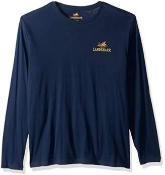 Margaritaville Men's Long Sleeve Landshark Premium T-Shirt