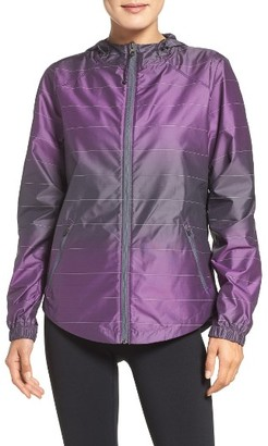 Women's Zella Run The World Reflective Jacket $129 thestylecure.com