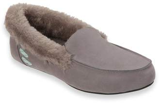 Dearfoams Women's Suede Moccasin Slippers