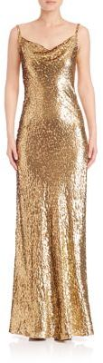 MICHAEL Michael Kors Michael Kors Collection Sleeveless Long Gown