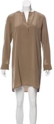 Vince Silk Mini Dress