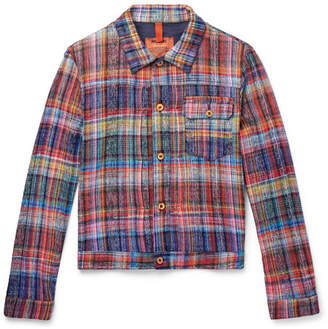 Missoni Checked Cotton Trucker Jacket