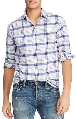 Polo Ralph Lauren Gingham Oxford Classic Fit Button-Down Shirt