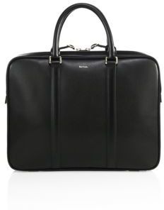 Paul Smith Paul Smith City Embossed Leather Portfolio Briefcase
