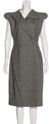 Antonio Berardi Structured Midi Dress