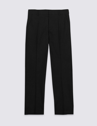 Marks and Spencer Senior Boys' Slim Leg Longer Length Trousers