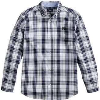 Chaps Boys 4-20 Button-Down Woven Shirt