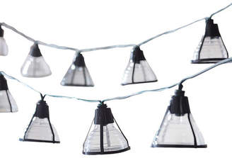 Smart Solar Solar 20-Light 14.75 ft. Lantern String Lights